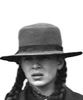 "Mattie Ross from ""True Grit"""