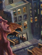 "A close-up of ""levels"", a painting by my friend on doodlemoose.com (click to see more)"