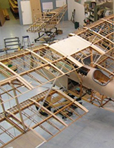 SE.5a under construction at the Vintage Aviator shop. Image courtesy of The Vintage Aviator: http://thevintageaviator.co.nz/node/2784