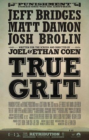 """""""True Grit"""" movie poster"""
