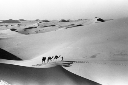 Wilfred Thesiger photograph in the Empty Quarter