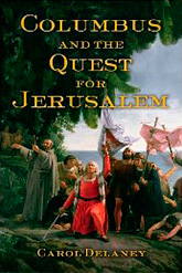 """Columbus and the Quest for Jerusalem"" book cover"