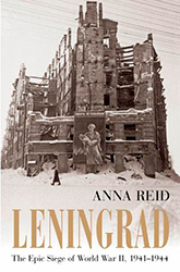 """Leningrad"" book cover"