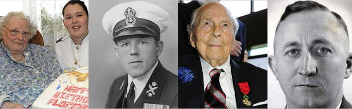 Photos of the last veterans of World War I