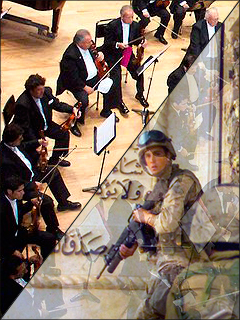 Photo of orchestra is courtesy of Pedro Sánchez via Wikipedia