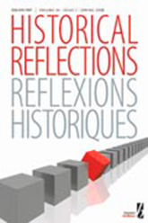 Historical Reflections journal cover