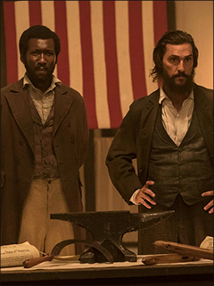 "Newt and Moses from the movie ""Free State of Jones"""